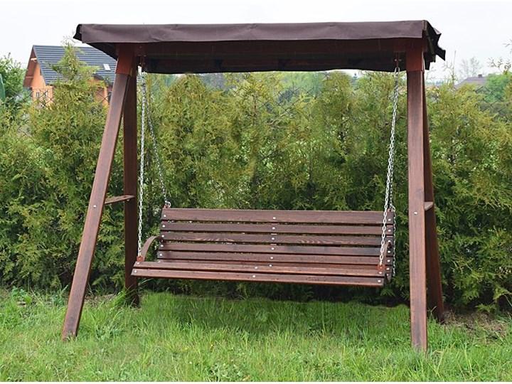 Drewniana huśtawka ogrodowa Magis 4X - 180cm Kategoria Huśtawki ogrodowe Typ Huśtawka ze stelażem