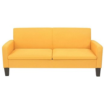 Stylowa kanapa Triniti 3Q - żółta