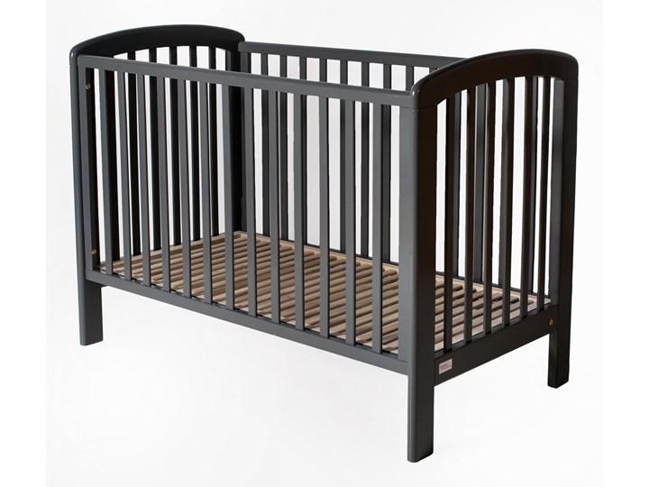 Lux łóżeczko dziecięce 120x60 (k. seal grey) opuszczany bok