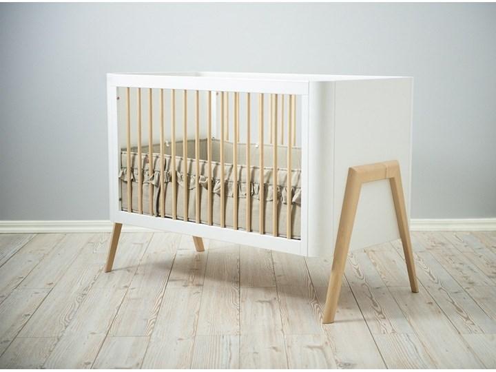 Troll Nursery łóżeczko Torsten dziecięce 120x60 (k. biały + natural wax)