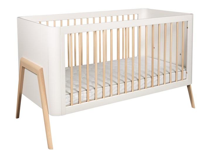 Troll Nursery Torsten łóżeczko dziecięce 140x70 (k. biały + natural wax)