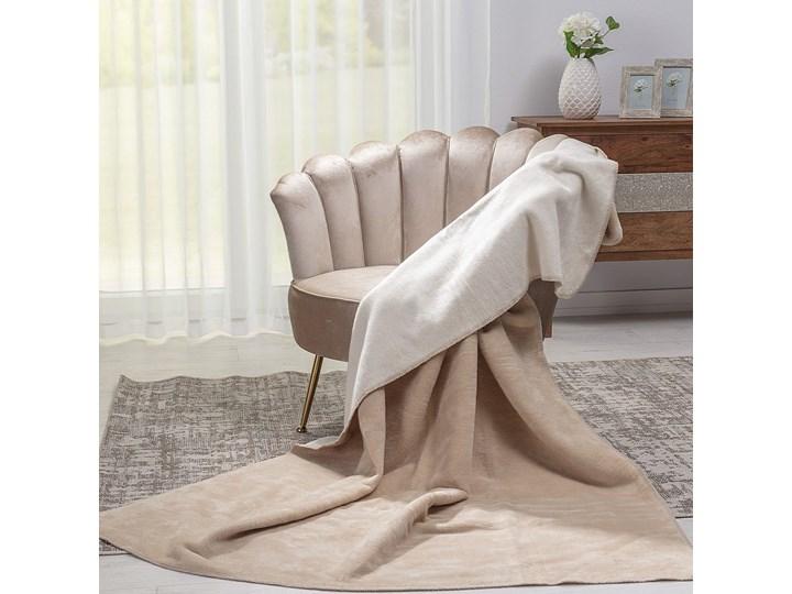 Koc Cotton Cloud 150x200cm Ecru&Light Beige, 150 x 200 cm Akryl 150x200 cm Kolor Beżowy Bawełna Kategoria Koce i pledy