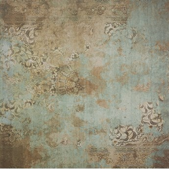 Carpet Baghdad Green 100x100 płytki podłogowe