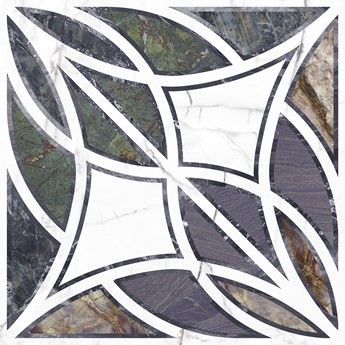 Vivid Centro Stamp Pulido 89,46x89,46 płytki imitujące marmur