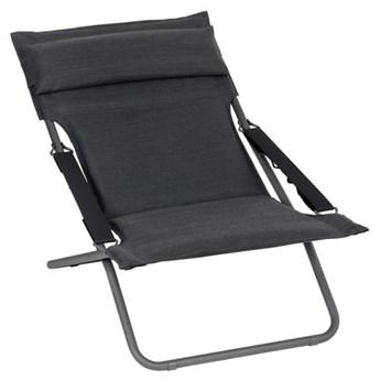 Leżak / Fotel Lafuma BAYANNE (TRANSABED) Deck Chair Onyx LFM2866-8917