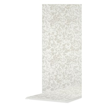 Panel ścienny PCV 2700 x 250 mm srebrny kwiat 3,38 m2