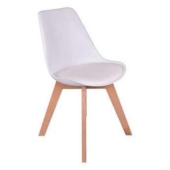 Krzesło skandynawskie dsw Nantes -biały
