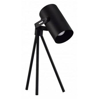 Metalowa lampka biurkowa Arun Czarny