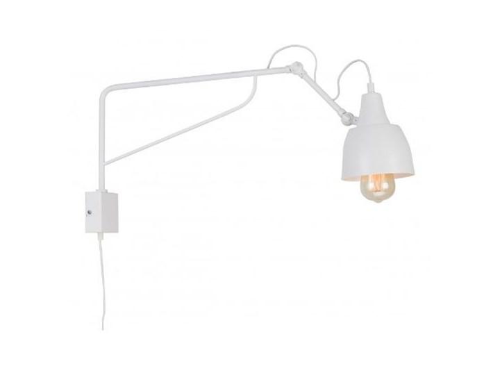 Metalowy kinkiet Spider Short z wtyczką do gniazdka Biały Lampa LED Żyrandol Lampa pająk Stal Kategoria Lampy wiszące