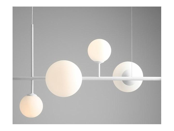 Żyrandol ze szklanymi kulami Floki Czarny Szkło Metal Styl Nowoczesny Lampa z kloszem Kategoria Lampy wiszące
