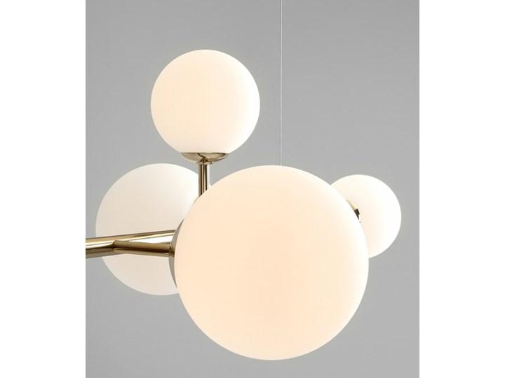 Żyrandol ze szklanymi kulami Floki Czarny Metal Szkło Lampa z kloszem Kategoria Lampy wiszące