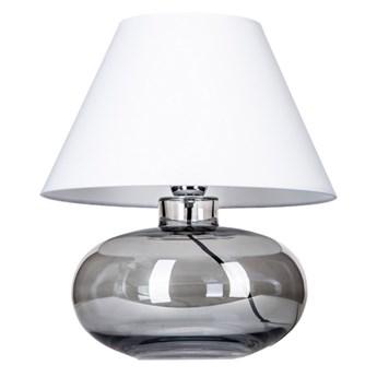 Szklana lampka nocna Bergen Biały