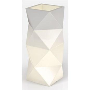 Oryginalna donica podświetlana LED Asti Do wnętrz / biały przewód z włącznikiem Ciepła