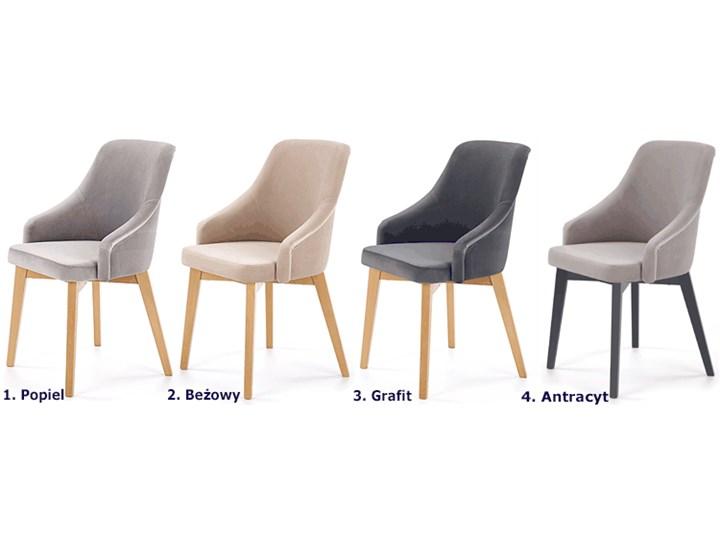 Krzesło drewniane Altex 2X - antracyt + dąb grafitowy Drewno Szerokość 57 cm Wysokość 86 cm Styl Skandynawski