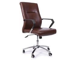 Fotel biurowy ALFA czarno/brązowy
