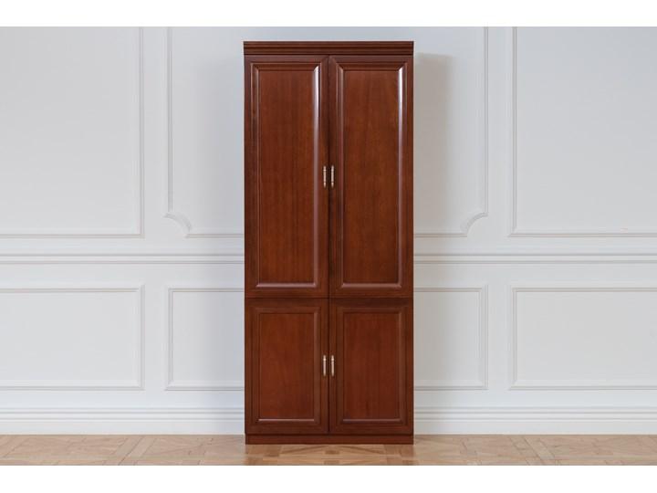 Szafa 2-drzwiowa ANTONIO II B Wysokość 190 cm Szerokość 120 cm Drewno Typ Gotowa Kategoria Szafy do garderoby