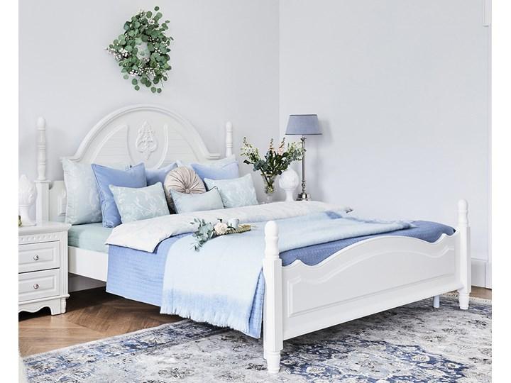 Łóżko 180x200 VICTORIA 805 Kolor Biały