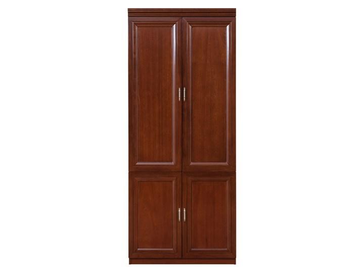 Szafa 2-drzwiowa ANTONIO II B Wysokość 190 cm Szerokość 120 cm Drewno Typ Gotowa Lustro