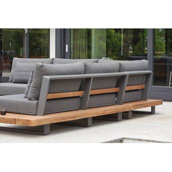 Meble ogrodowe aluminiowe - narożnik nowoczesny na taras FITZ | Dekkor