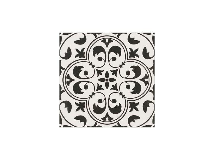 Gres szkliwiony PATCHWORK CONCEPT white-black naomi satin 29,8x29,8 g
