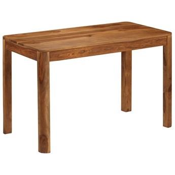 Drewniany brązowy stół - Sierra 2X