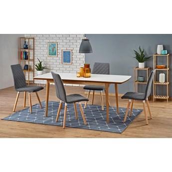 Rozkładany stół w stylu skandynawskim Nemes - biały