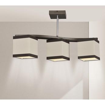 ALTRO 3 507/3 lampa sufitowa ciekawy design beżowe abażury