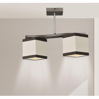 ALTRO 2 507/2 lampa sufitowa ciekawy design beżowe abażury