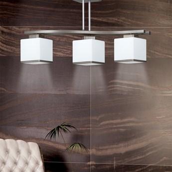 NARTA 3 WENGE 249/3 nowoczesna lampa sufitowa szklany klosz