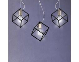 AMBITION 3 BLACK 240/3 oryginalna forma kubistyczny kształt lampa wisząca czarna
