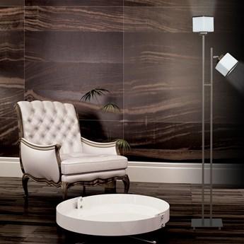 NARTA LP2 WENGE 249/LP2 lampa podłogowa szklane klosze dużo światła