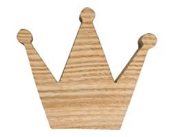 Premium Gałka do mebli Korona drewniana