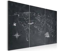 Obraz - Podróż dookoła świata - tryptyk