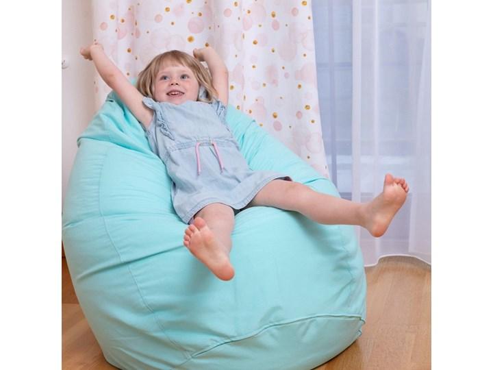 Worek do siedzenia, niebieski, Ø50 × 85 cm, Jupiter Kategoria Pufy Tkanina Tworzywo sztuczne Siedzisko Styl Nowoczesny