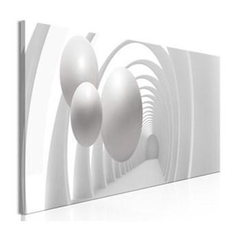 Obraz - Biały tunel (1-częściowy) wąski