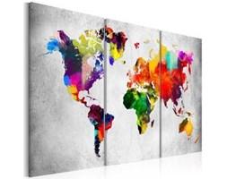 Obraz - Artystyczny świat - tryptyk