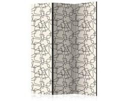 Parawan 3-częściowy - Zaokrąglona geometria [Room Dividers]