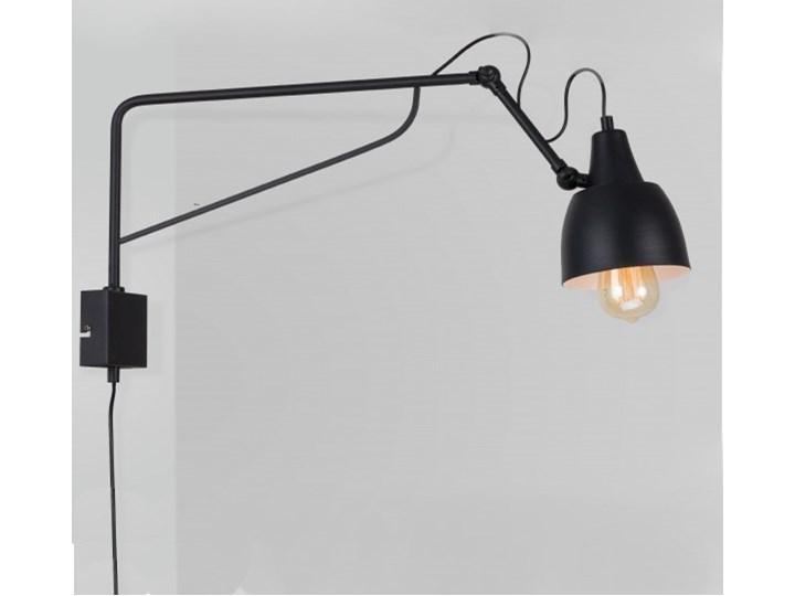 Metalowy kinkiet Spider Short z wtyczką do gniazdka Biały Stal Lampa LED Żyrandol Lampa pająk Ilość źródeł światła 4 źródła