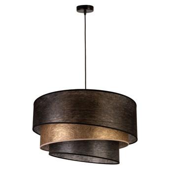 Designerska lampa wisząca Trio z potrójnym abażurem