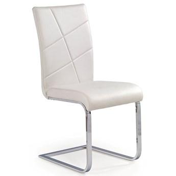 Krzesło metalowe Preis - białe