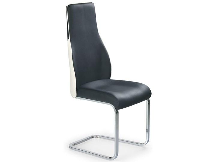 krzesło metalowe treor czarne