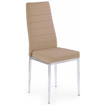 Tapicerowane krzesło Perks - beżowe
