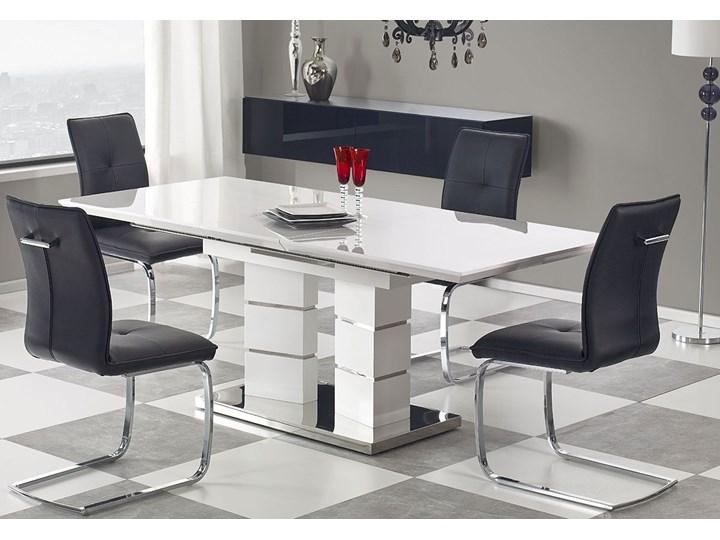 Stół rozkładany 160-200x90 Lordis Wysokość 75 cm Długość 200 cm  Kolor Biały Płyta MDF Długość 160 cm  Szerokość 90 cm Styl Nowoczesny