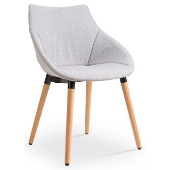 Skandynawskie krzesło Errol - popielate