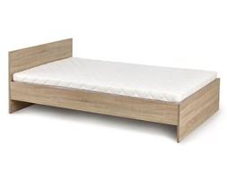 pojedyncze łóżko lines 90x200 - dąb sonoma
