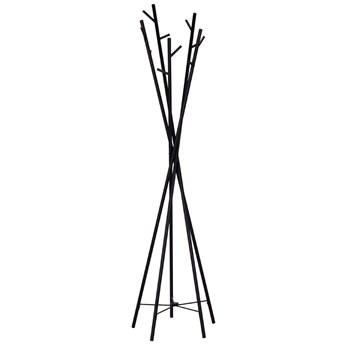 Nowoczesny wieszak stojący Arlen 4X - czarny