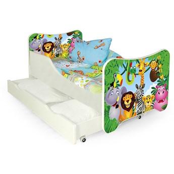 Bajkowe łóżko dziecięce Junglis