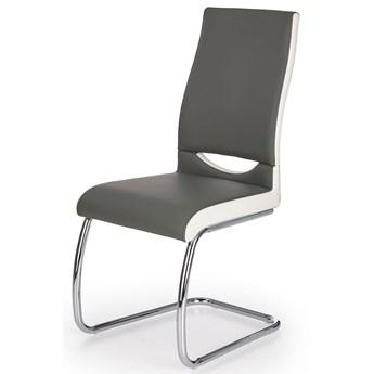 Krzesło tapicerowane Driven - popielate