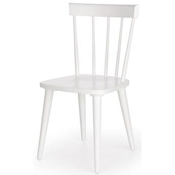 Skandynawskie krzesło patyczak Ulvin - białe