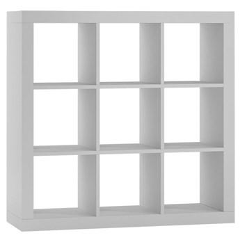 Regał kwadrat Idris 4X - biały